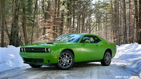 dodge challenger awd 2018 dodge challenger gt awd review auto car update
