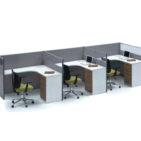 office desk 3 person office workstation office furniture