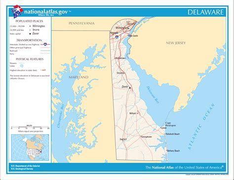 us map states delaware large detailed map of delaware state delaware state large