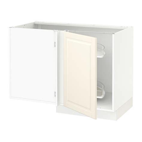 ikea kitchen corner cabinet sektion corner base cabinet po organizer white bodbyn