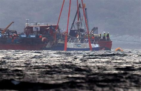 fishing boat accident tarbert criminal investigation held into fatal sinking of nancy