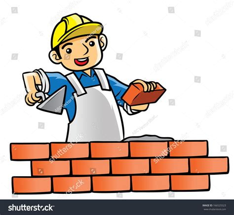 house builder house builder stock vector 166525523
