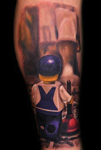 Plumbing Tattoos by Lego Top 20 Lego Tattoos From Batman To The