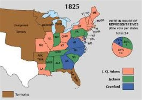 the house of representatives decided the 1824 presidential election when andrew jackson timeline timetoast timelines