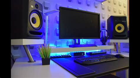 bedroom studio desk minimalist bedroom studio desk ikea hack guide youtube