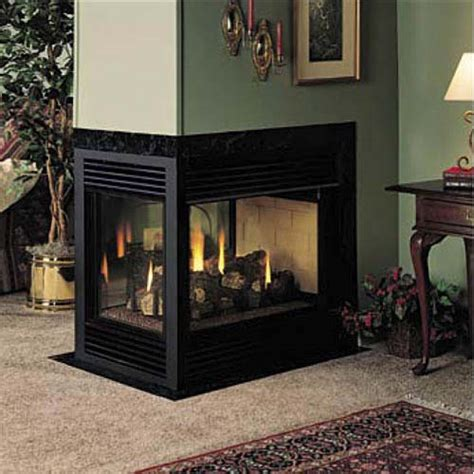 fmi balboa 36 inch direct vent 3 sided fireplace propane