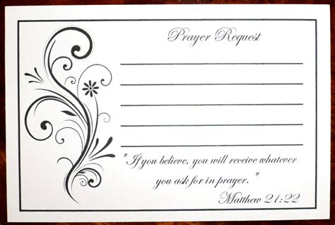 Ez Shop Gift Card - pack of 100 prayer request cards
