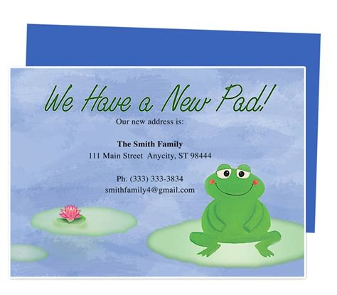 Template Business Card New Address by 14 Best Images About Moving Announcements New Address