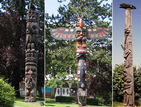 images of totem poles monumental totem poles of american tell