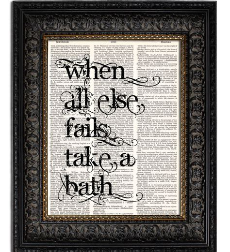 bathroom art print top 5 quotes for decorating the bathroom revmodern