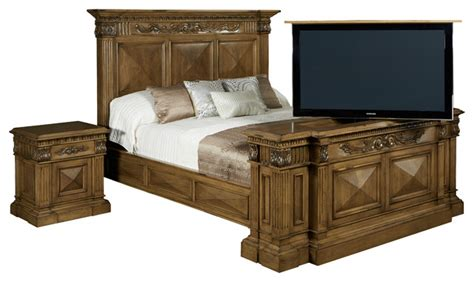 Footboard Tv Lift Cabinet by Tv Lift Cabinet Belvedere Tv Lift N Bed With Swivel