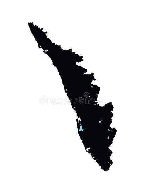 India State Map Vector Illustration. India Map With All