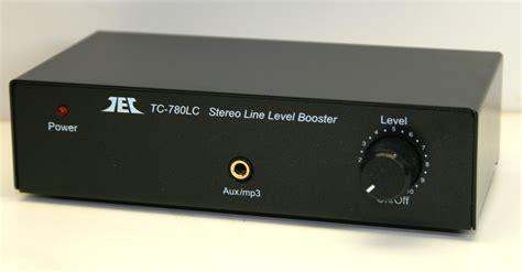 technolink tec tc 780lc line level booster pre