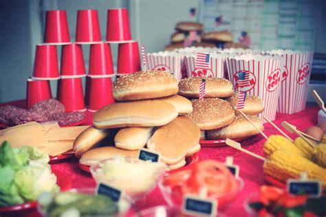 Deco De Table Americaine by Decoration Usa Pour Anniversaire