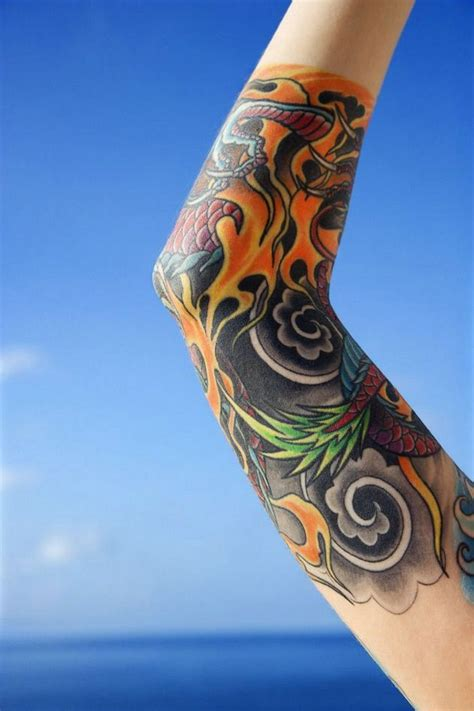 colored tattoos for men sleeve tattoos for with colors sleeve tattoos