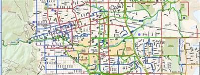 map of of colorado boulder maps of boulder s transportation system