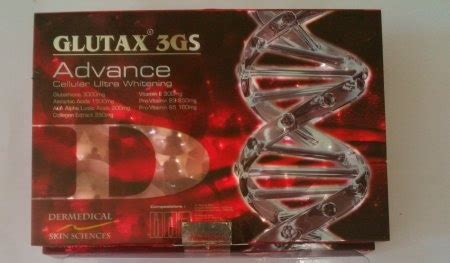Glutax 12gs gluthathione skin whitening injections in india