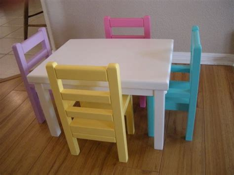18 inch doll kitchen furniture items similar to kitchen table and chairs for american doll or 18 inch dolls on etsy