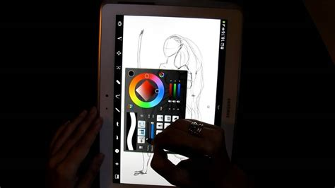 sketchbook pro galaxy note samsung galaxy note 10 1 s pen autodesk sketchbook pro
