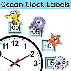 themes o clock under the sea ocean theme classroom decor editable