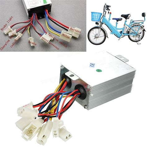 E Bike 24v by 24v 500w Motor Brushed Speed Controller For Electric