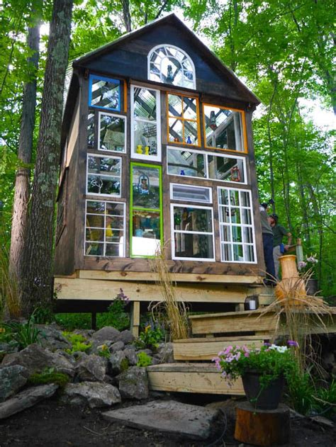 tiny home builder enchanting glass house built in just four days tiny