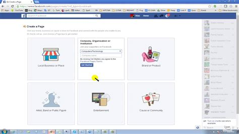 tutorial build website c how to create a facebook page facebook bangla tutorial
