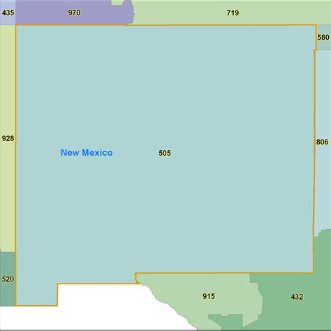 Area Code 505 Lookup Us Area Code From Mexico 28 Images New Mexico Zip Code Maps Free New Mexico Zip