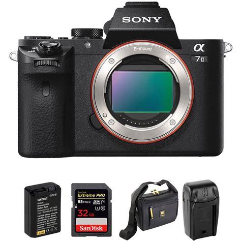 sony alpha a7 mirrorless digital sony alpha a7 ii mirrorless digital with accessory