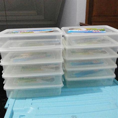 Tempat Minuman Saus Bumbu Jual Kotak Plastik Box Packaging Anti Basah jual kotak box donat plastik food grade 10 pcs modiesta onlinestore