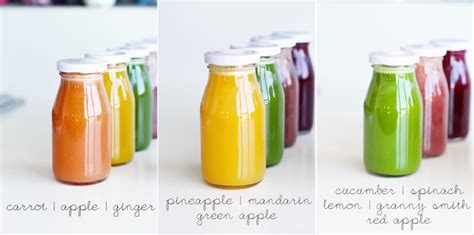Cold Detox by Recipe For Cold Pressed Rainbow Juices Juicer Reviews