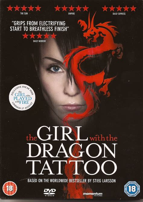 books like the girl with the dragon tattoo crime scraps lisbeth salander on screen