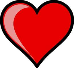 State Flowers List 3000 free heart clip art images and pictures of hearts