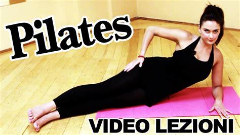 esercizi pilates a casa pilates esercizi per allenamento completo per dimagrire