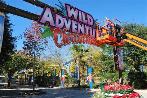 theme park valdosta wild adventures christmas begins local news