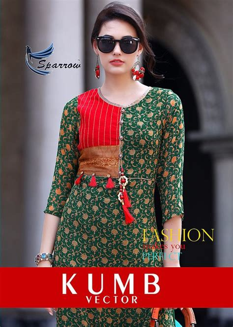 kurtis pattern vector kumb vector crazy georgette fabric printed with patterns