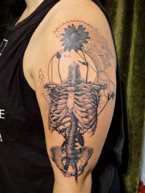 xoil tattoo xoil skeleton flower ink expressionless