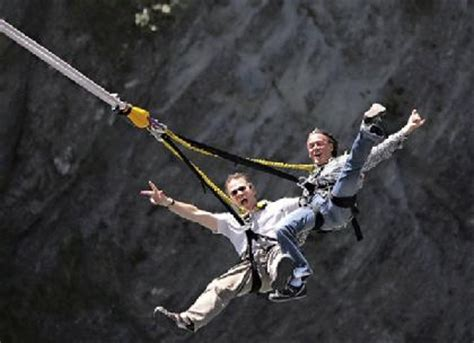 bungee swing go to new zealand to bungee swing bucket list pinterest