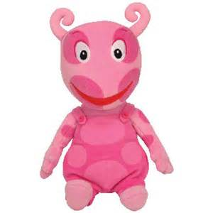 Backyardigans Uniqua And Ty Beanie Baby Uniqua The Uniqua Nick Jr The
