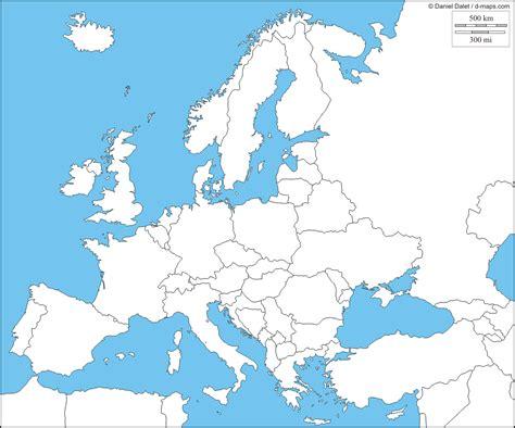 maps de europa mapa fisico de europa para completar