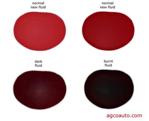 transmission fluid color chart agco automotive repair service baton la
