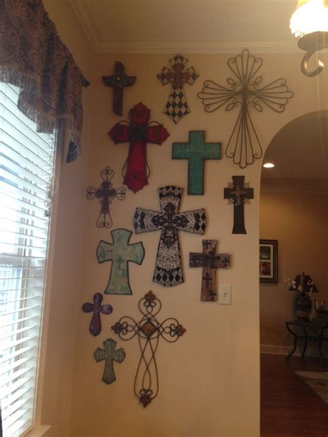 Wall Crosses Decor by 17 Best Ideas About Cross Wall On Barbed