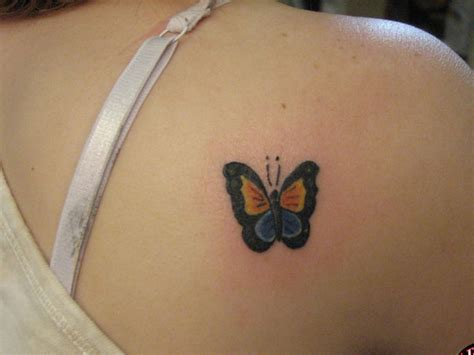 small butterfly tattoos on back pictures of small butterfly tattoos images for tatouage