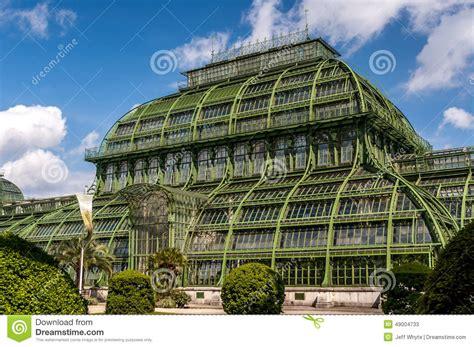 pavillon schönbrunn schonbrunn palace palm pavilion stock photo image 49004733