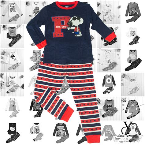 Setelan Baju Snoopy Piyama Snoopy boys clothing