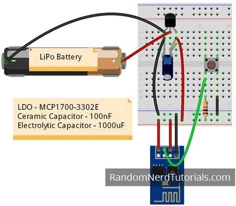 reset li ion laptop battery esp8266 voltage regulator for lipo and li ion batteries