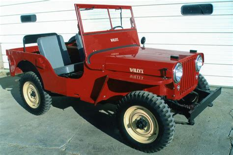1948 Jeep Willys 1948 Willys Jeep Cj2a 81284