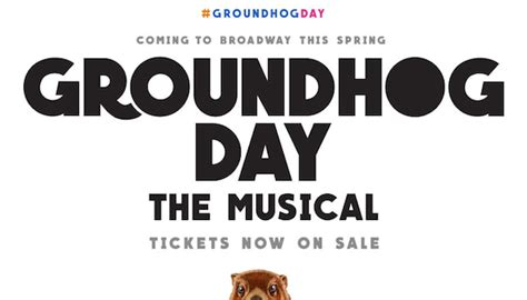 groundhog day tickets tim minchin 183 tickets are now on sale for groundhog day on