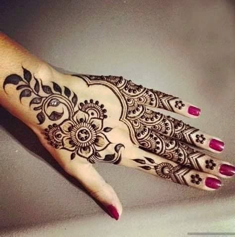 fingers and hand henna art mehandi designs kfoods com