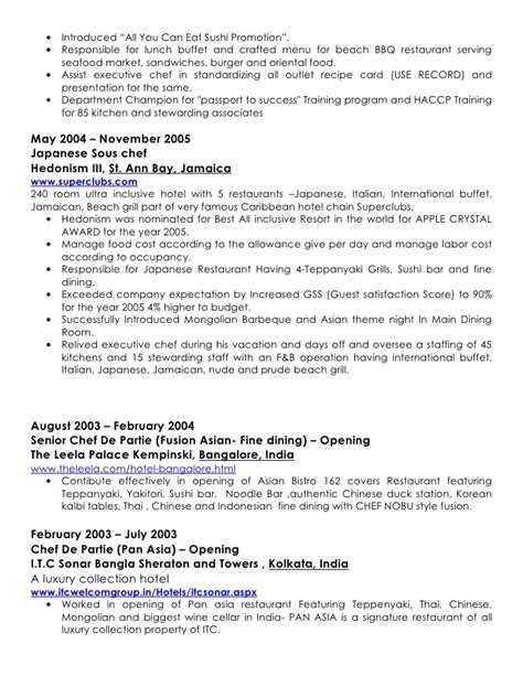 Sle Of Japanese Resume Pankaj Kumar Cv